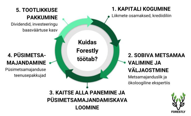 Tulundusühistu Forestly Eesti protsess